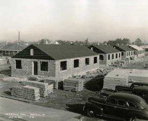 jan 1941 merrimack park military housing under construction in norfolk va