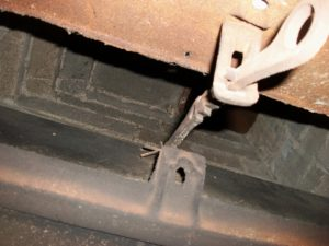 air leak fireplace damper