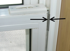 air leak window