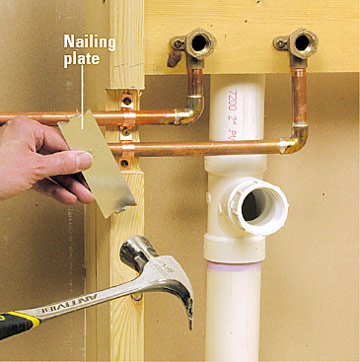 What Are Nail Guards Al S Plumbing