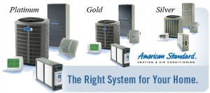 american standard platinum gold silver series hvac
