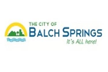 balch springs texas logo