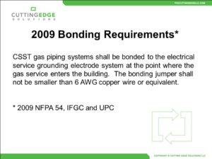 csst bonding requirements statement
