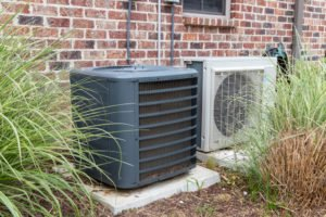 outdoor unit for central a/c and for ductless a/c