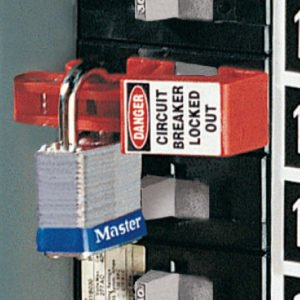 photo of circuit breaker lock out