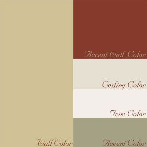 color chip with complimenting colors