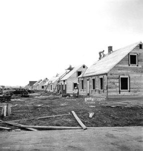 Levitt homes under construction