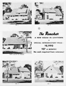 levittown rancher borchure