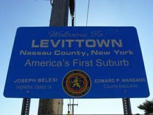levittown sign