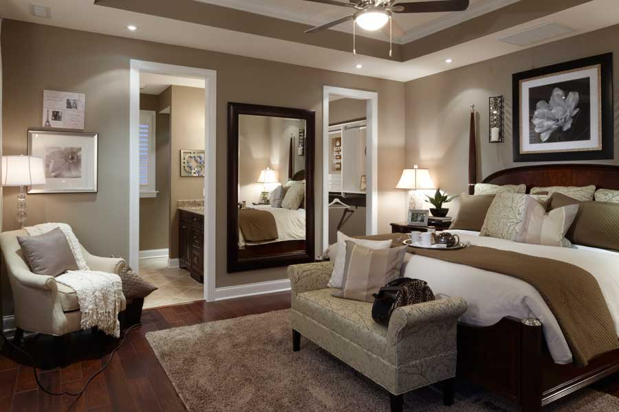 decor with several shades of beige