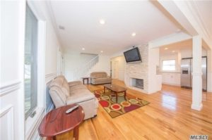 levittown home that is newly renovated
