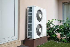 Ductless HVAC Double Compressor Outdoor Unit