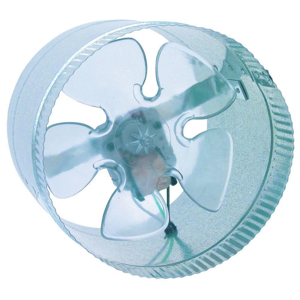 ductwork booster fan
