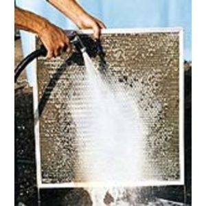 cleaning an electrostatic air filter