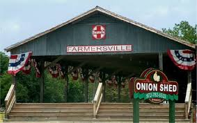 farmersville texas onion shed city attraction