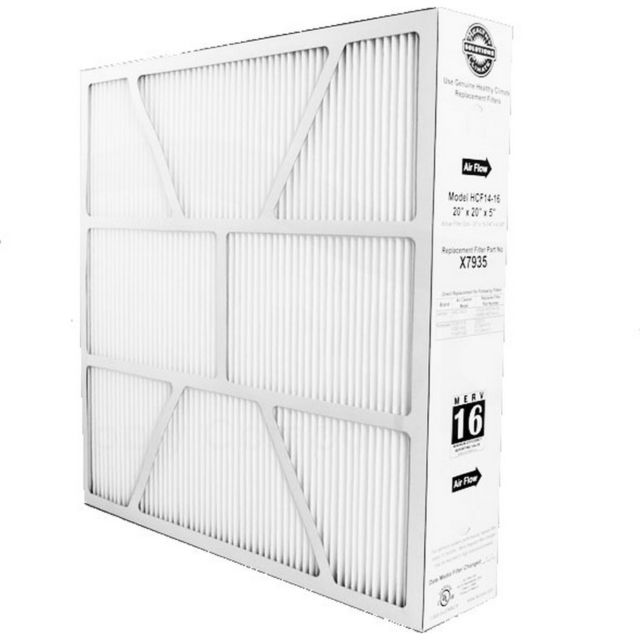 merv 16 rated furnace filter