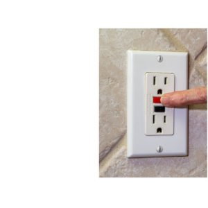 GFI electric outlet