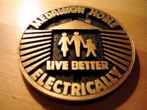 gold medallion home badge live better electrically