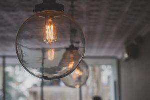 photo of led light bulb