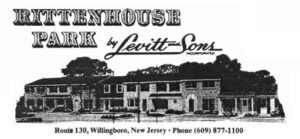 levitt homes townhomes ad for rittenhouse park in the 1960's