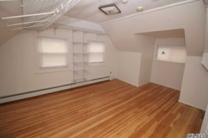 levittown ny newly finished attic