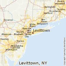 Levittown NY long island location map