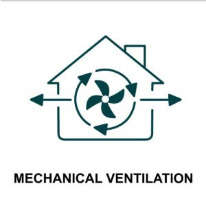 graphic says mechanical ventilation