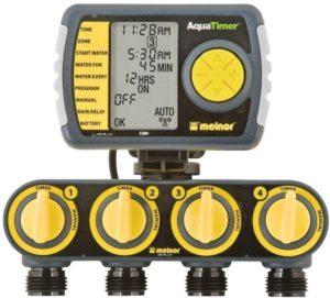 four hose automatic shut off timer