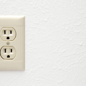 photo of electrical outlet