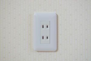 ungrounded electrical outlet