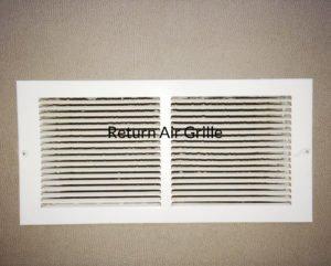 hvac return air grille