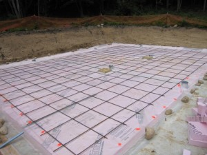 slab foundation rebar