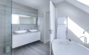 bath vanity top with raised bowls