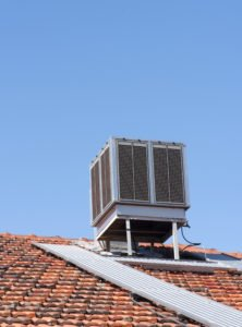 evaporative or swamp cooler