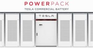 image for tesla's power pack commercial battery