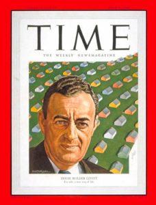 july 1950 time magazine william j levitt on cover