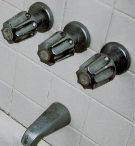 two handle bath faucet