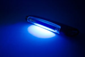 photo of uv light