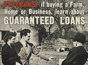 VA mortgage advertisement