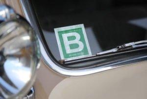 gas ration windshield sticker during world war 2