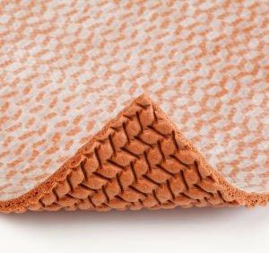 waffle rubber carpet pad