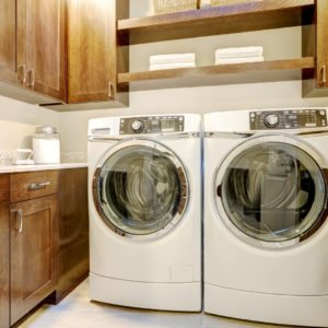 photo of washer and dryer