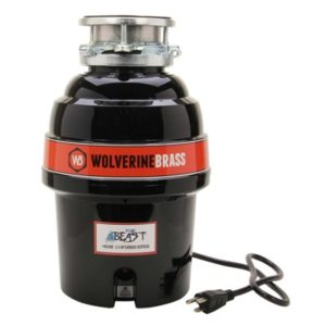 wolverine brass the beast garbage disposal