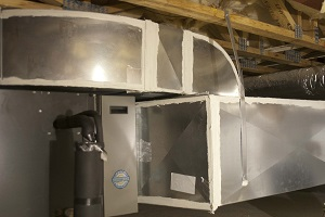 ductwork sealed with mastic