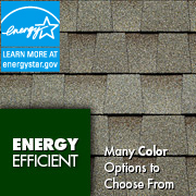 energy star rated roof shingles
