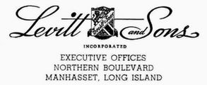 levitt and sons homes logo 1947 with coat of arms