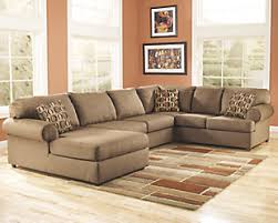 large sectional sofa that fits the space